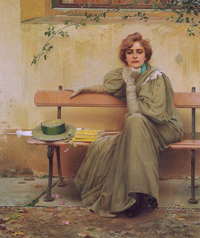 Vittorio Matteo Corcos Sogni 1896