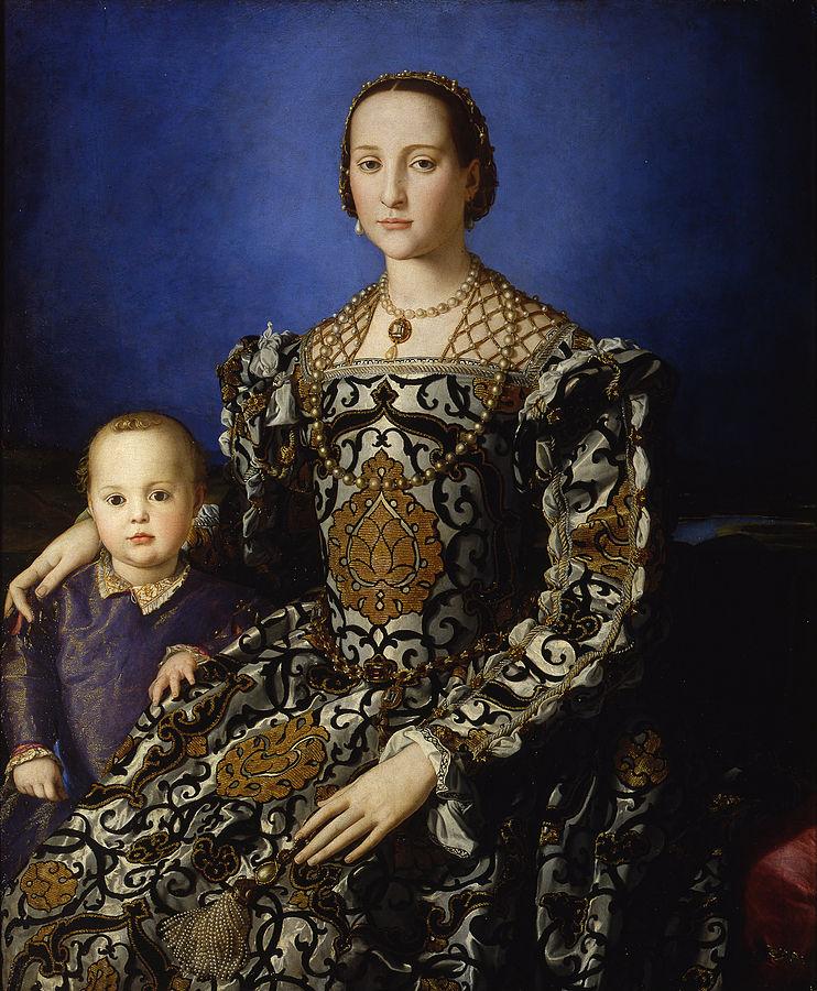 Agnolo Bronzino Eleonora di Toledo col figlio Giovanni