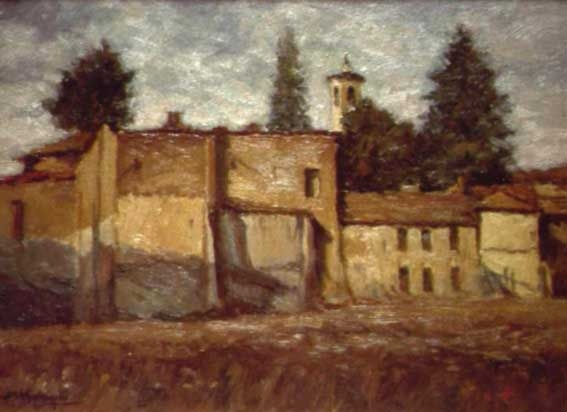 Angelo Francesco Bottigelli Ruderi presso San Rocco