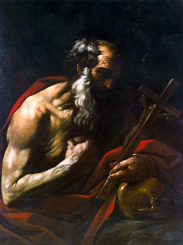 Flaminio Torri San Girolamo Penitente