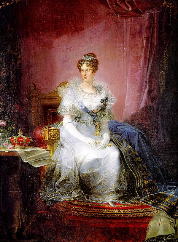 Giovanni Battista Borghesi Maria Luisa d'Austria Duchessa di Parma