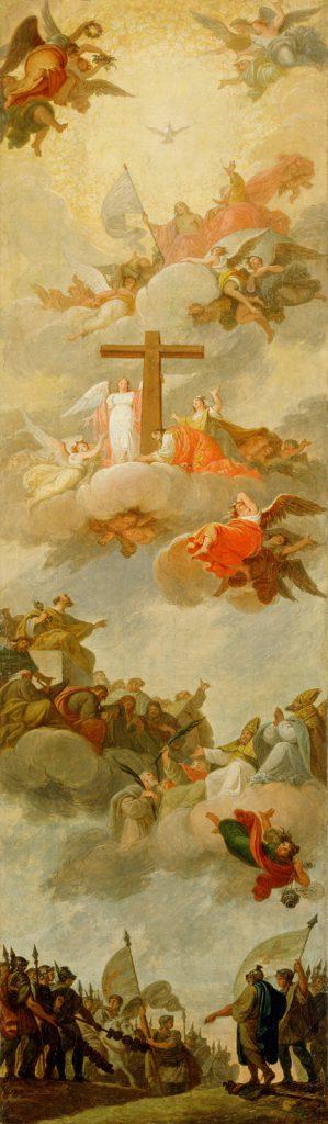 Giovanni Carlo Bevilacqua affresco galleria nazionale Slovena