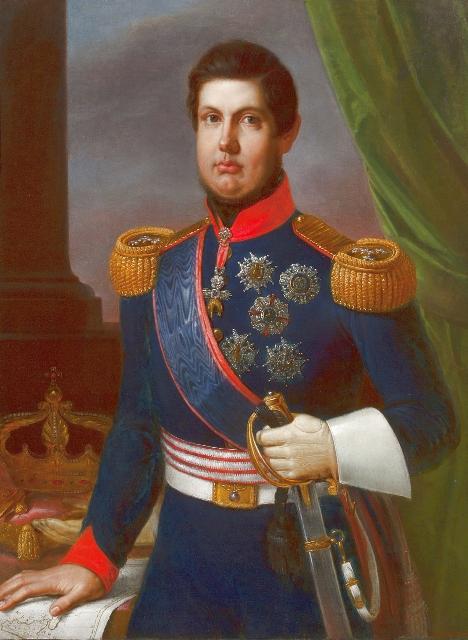 Giuseppe Bonolis Fernando II Rè delle due Sicilie