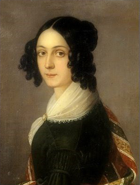 Ida Botti Scifoni Autoritratto 1839