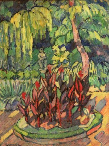 Pietro Marussig In giardino 1912