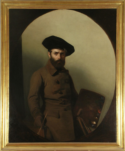 Ritratto del pittore Carlo_Bellosio Mauro Conconi