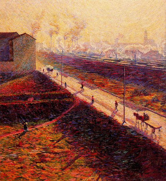 Umberto Boccioni 1909 Mattina