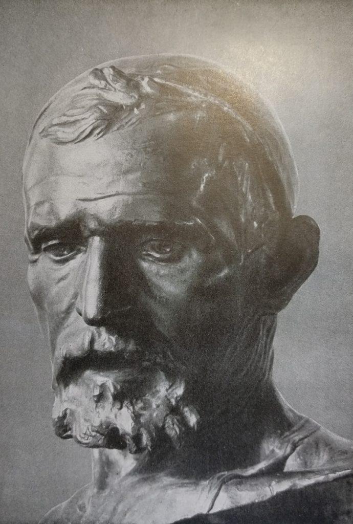 Achille Alberti Maniscalco opera realizzata in bronzo