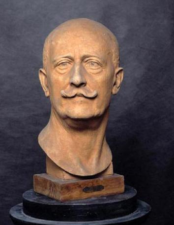 Achille Alberti autoritratto