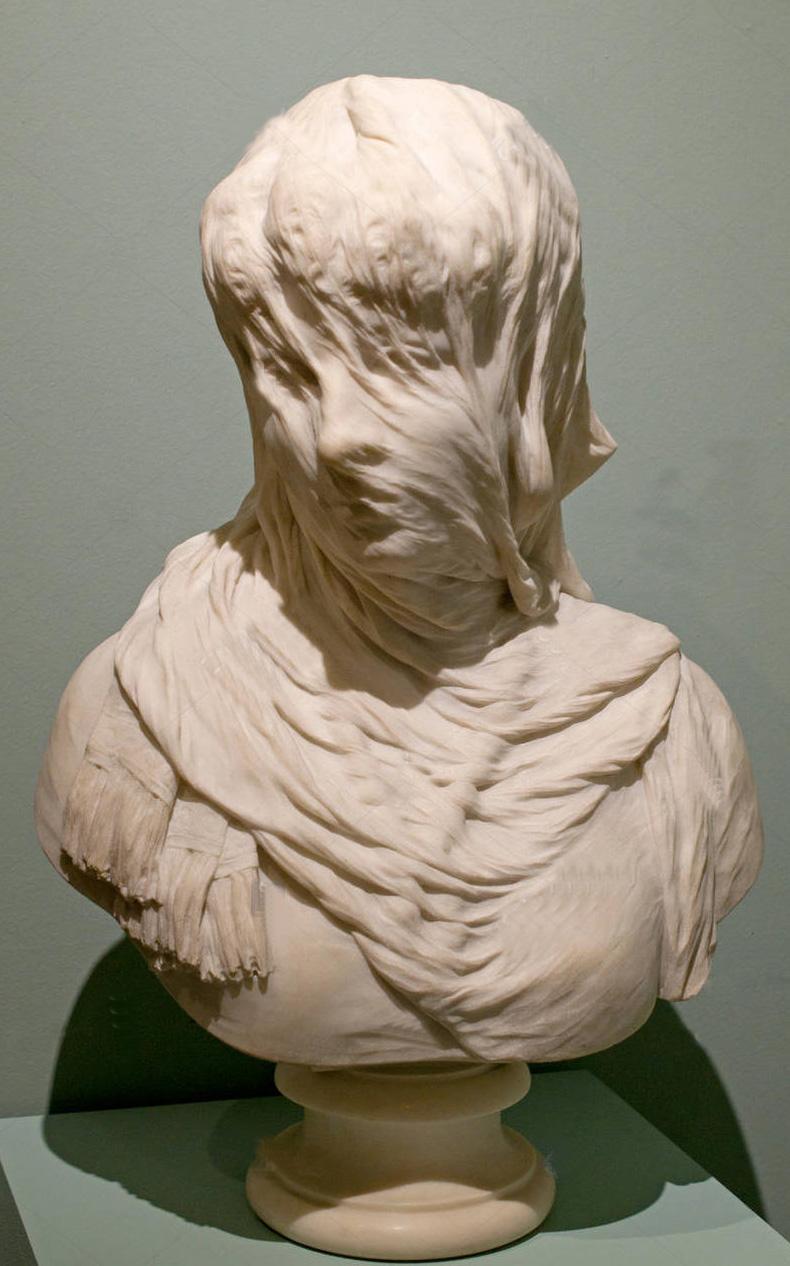 Achille Albacini donna velata