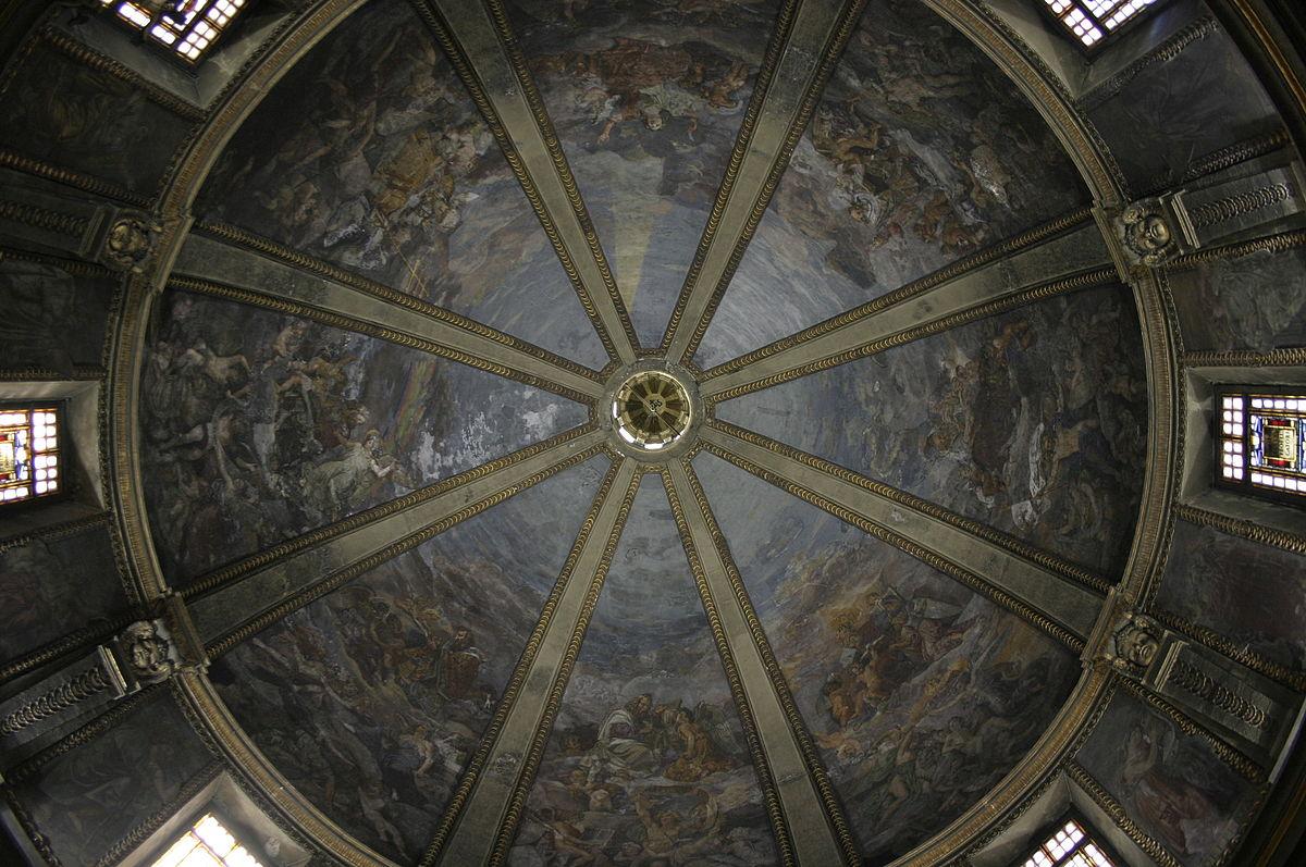 Agostino Comerio Tempio S. Sebastiano Milano Cupola