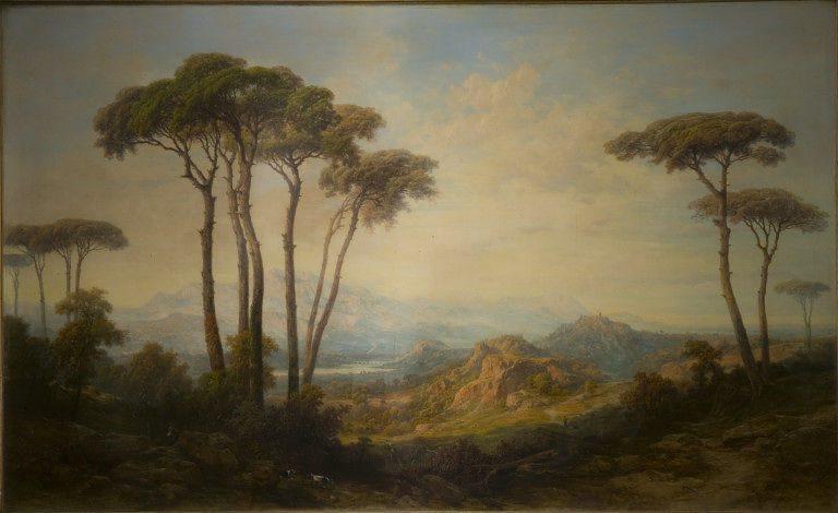 Alessandro Castelli paesaggio