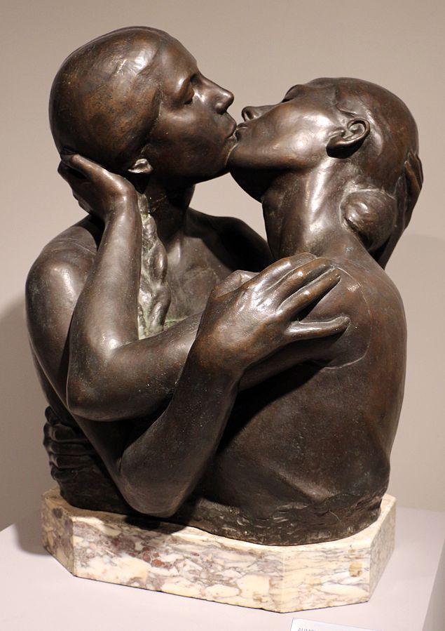 Alimondo Ciampi il bacio 1926