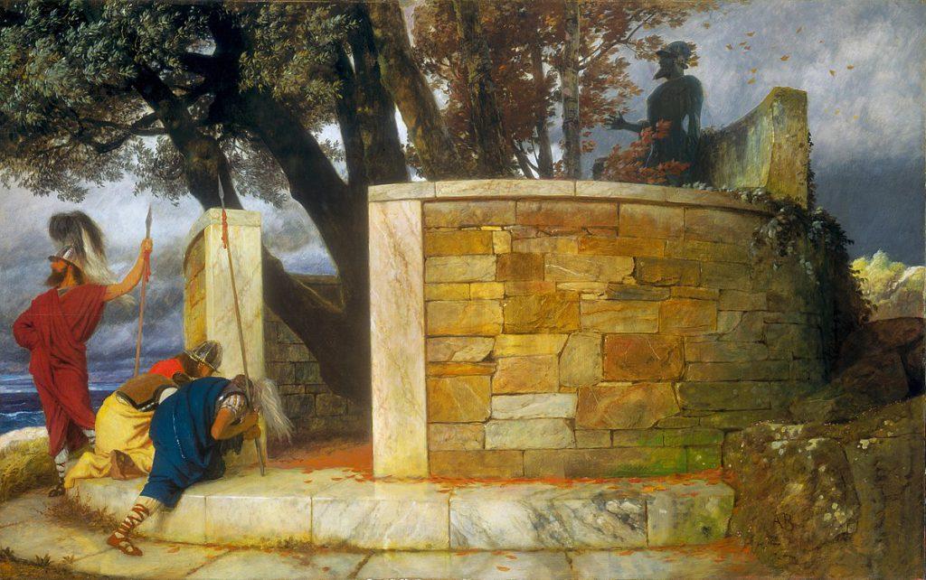 Arnold Bocklin Santuario di Ercole