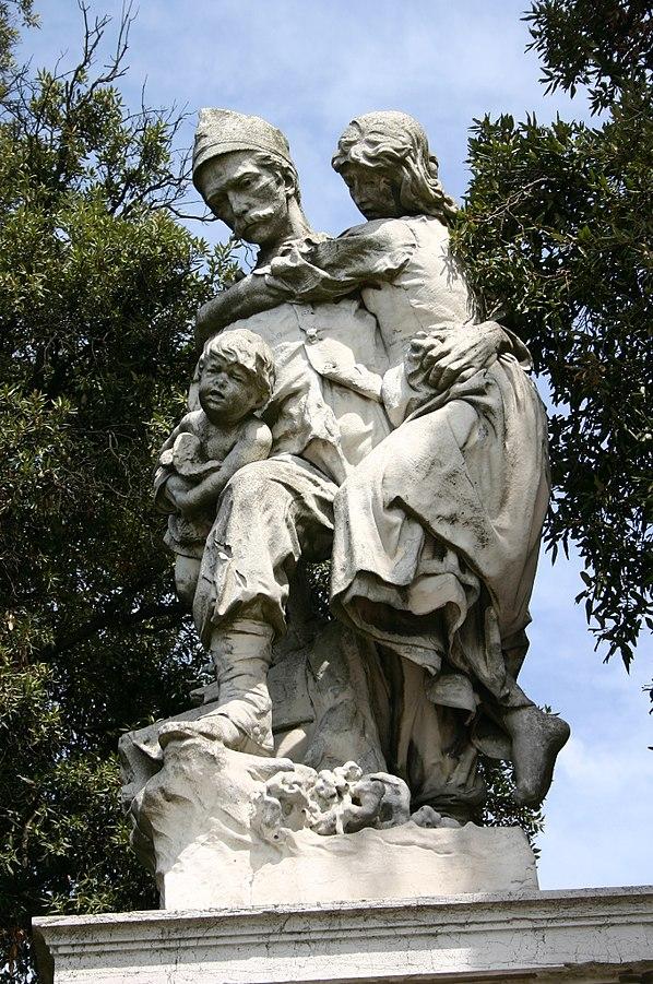 Augusto Benvenuti Monumento all'esercito