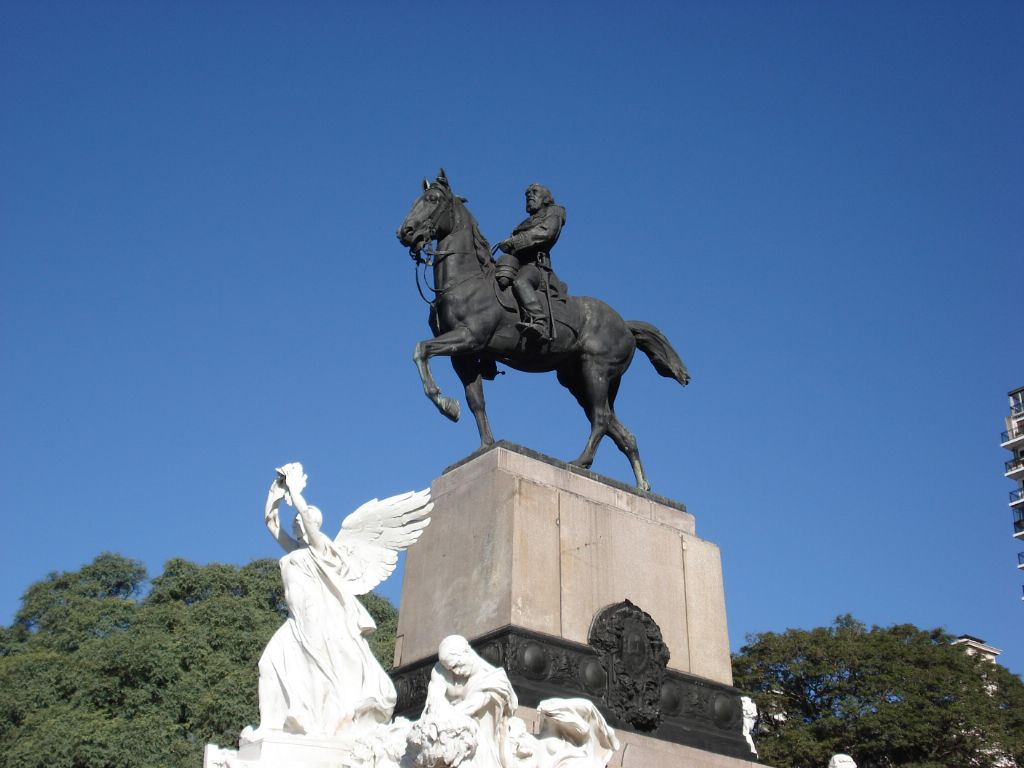 Davide Calandra Buenos Aires Monumento Bartolome Mitre