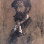 Ernesto Bazzaro Autoritratto