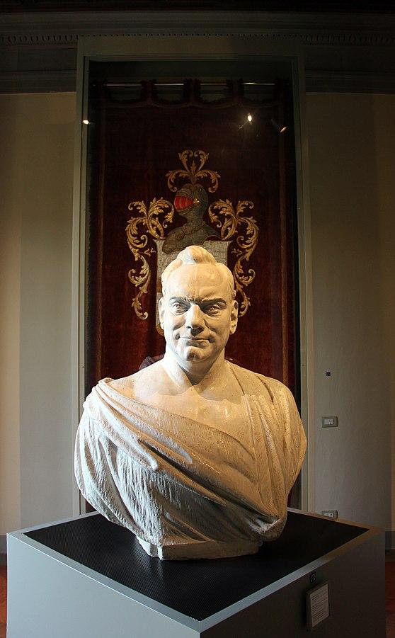 Filippo Cifariello busto di Enrico Caruso 1899 in gesso