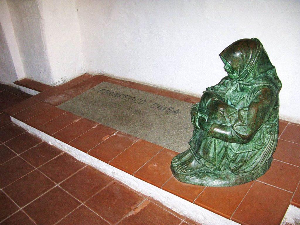 Francesco Ciusa la madre dell'ucciso