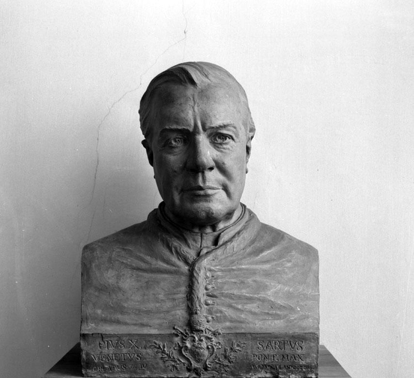Gerolamo Bortotti ritratto di Pio X