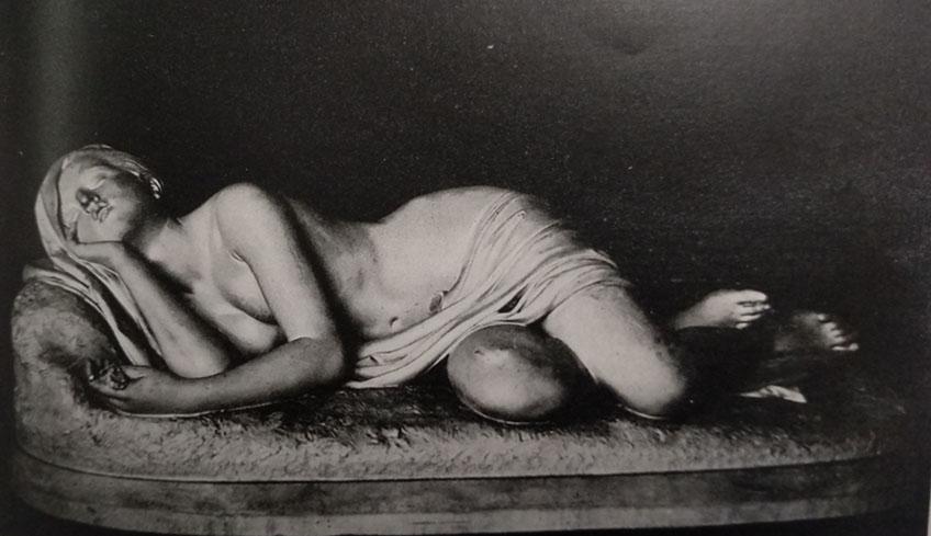 Giosuè Argenti Il sonno dell'innocenza in marmo