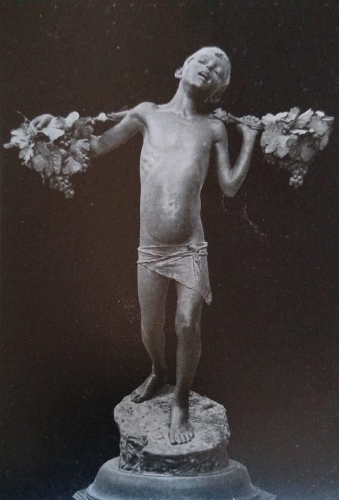 Giovan Battista Amendola Autunno in bronzo