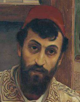 Giovanni Battista Amendola ritratto di Lawrence Alma Tadema