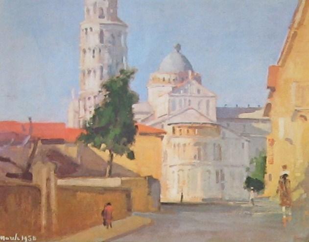 Giovanni March Piazza dei Miracoli 1958