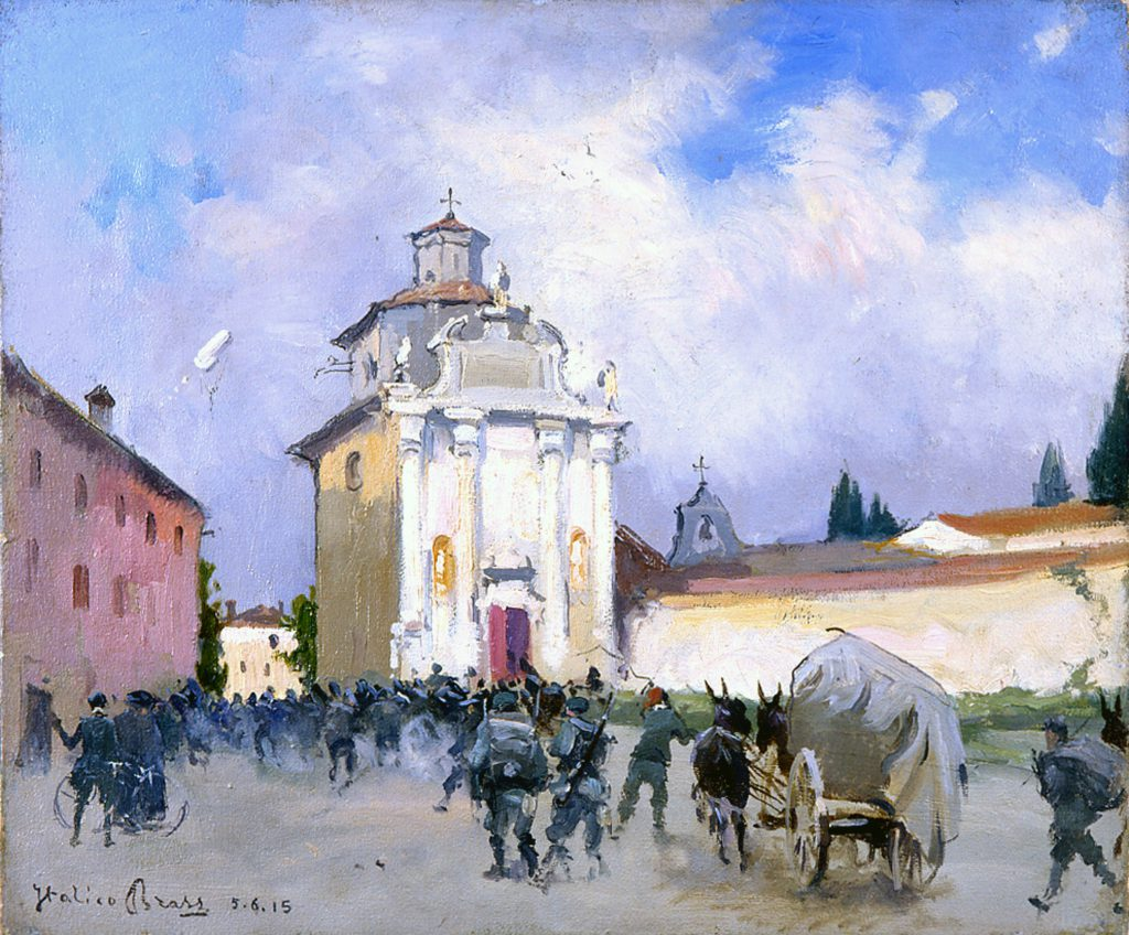 Italico Brass Soldati a Palmanova