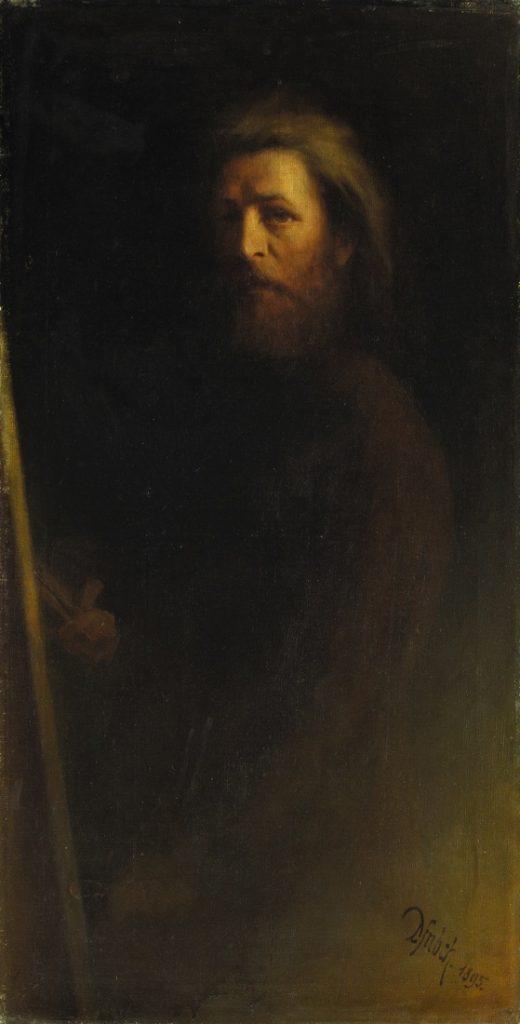 Karl Wilhelm Diefenbach - Autoritratto 1895