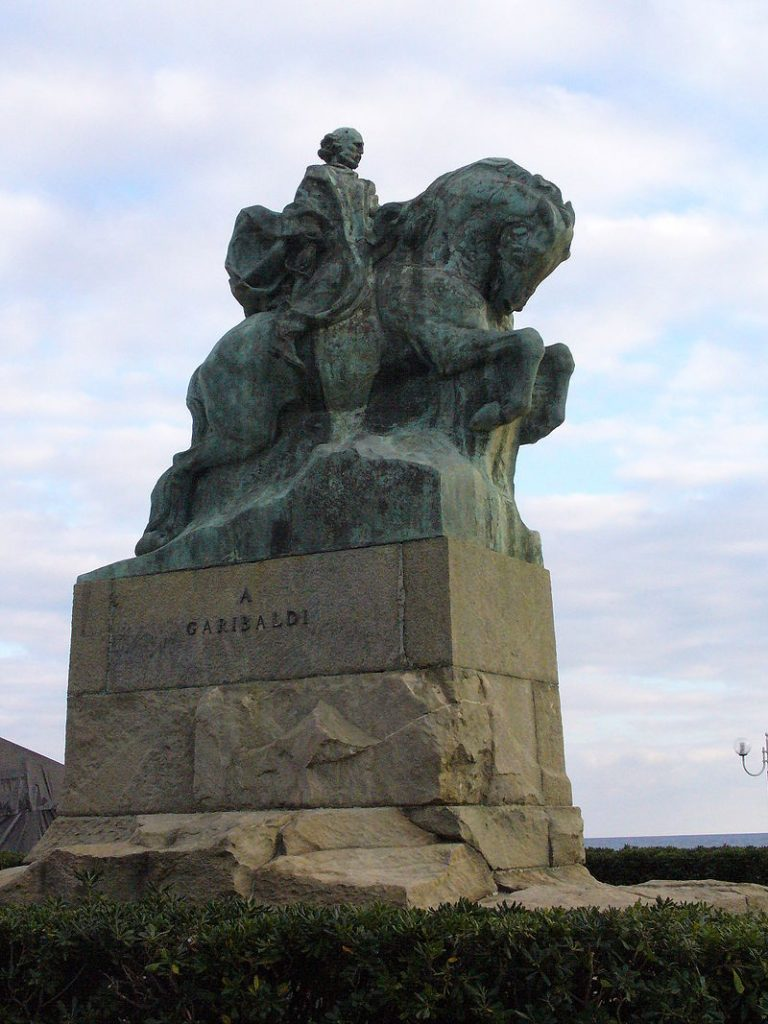 Leonardo Bistolfi Monumento Giuseppe Garibaldi a Savona