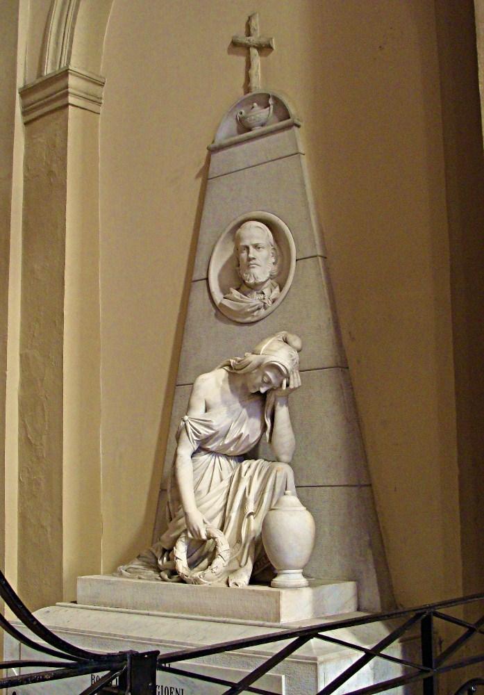 Rosario Bagnasco Monumento funebre a Rosolino Pilo