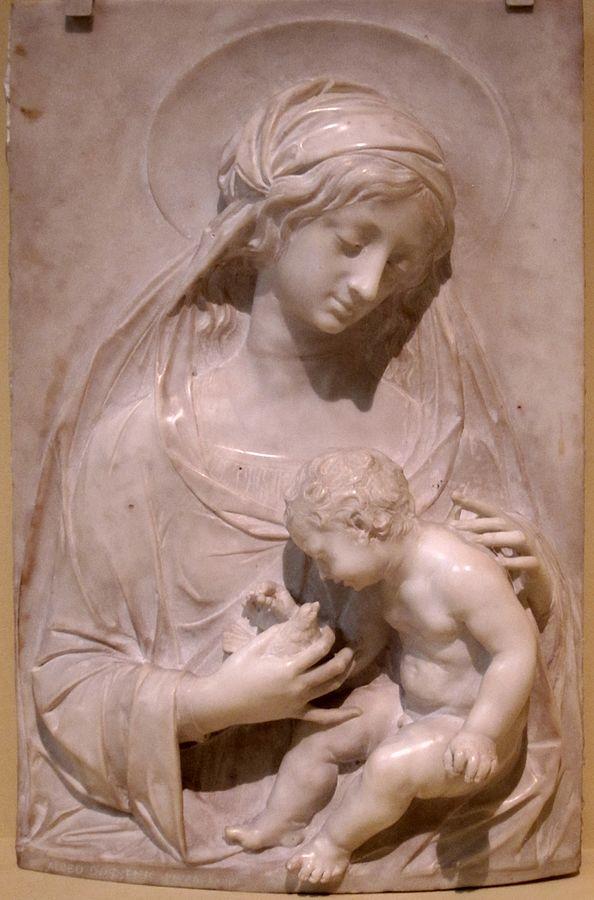 Alceo Dossena Madonna e bambino 1930 Museo di San Diego