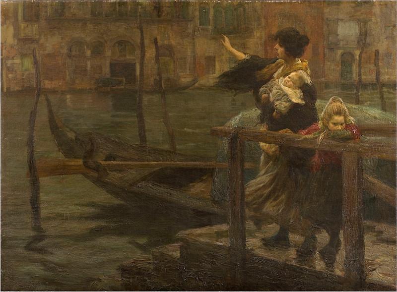 Alessandro Milesi La partenza del marinaio