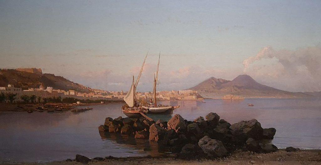 Alessandro La Volpe Scena di Pesca 1866