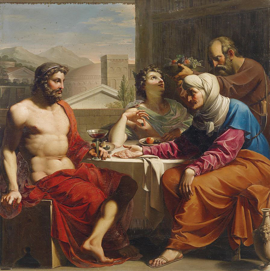 Andrea Appiani Giove Mercurio Filemone e Bauci