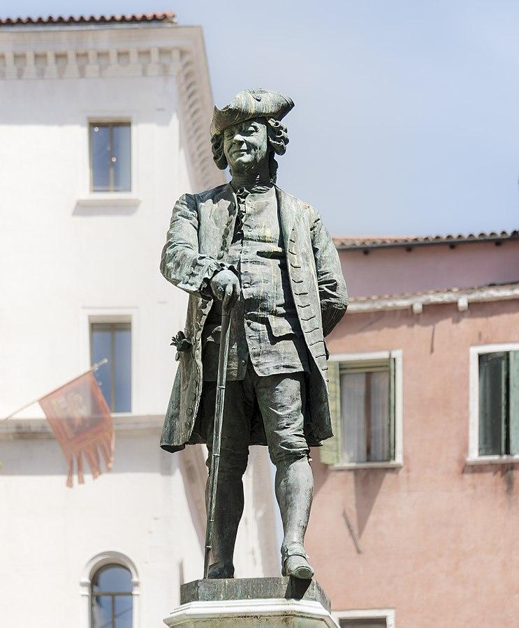 Antonio Dal Zòtto Monumento a Carlo Goldoni Venezia