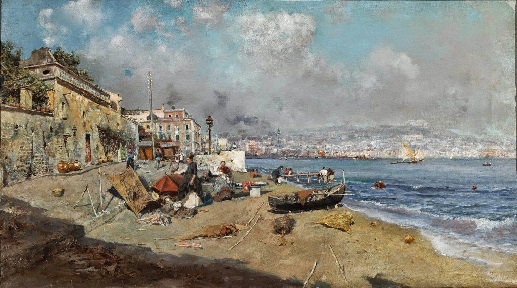 Attilio Pratella Golfo di Napoli