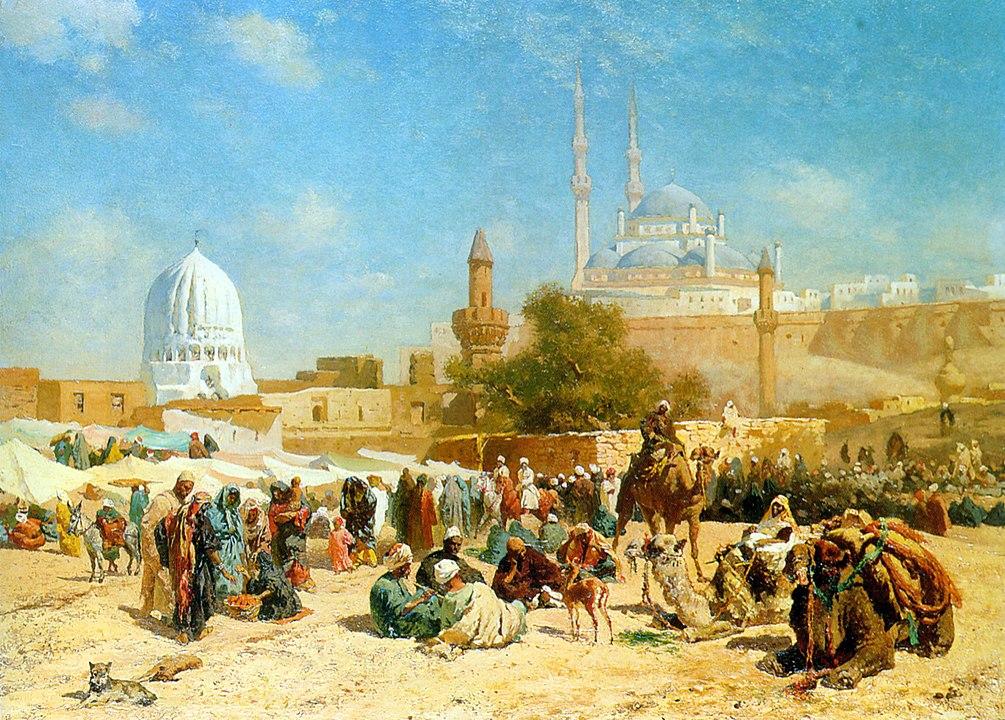 Cesare Biseo - Cairo vista da lontano