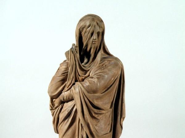Giacomo De Maria La Pudicizia in terracotta