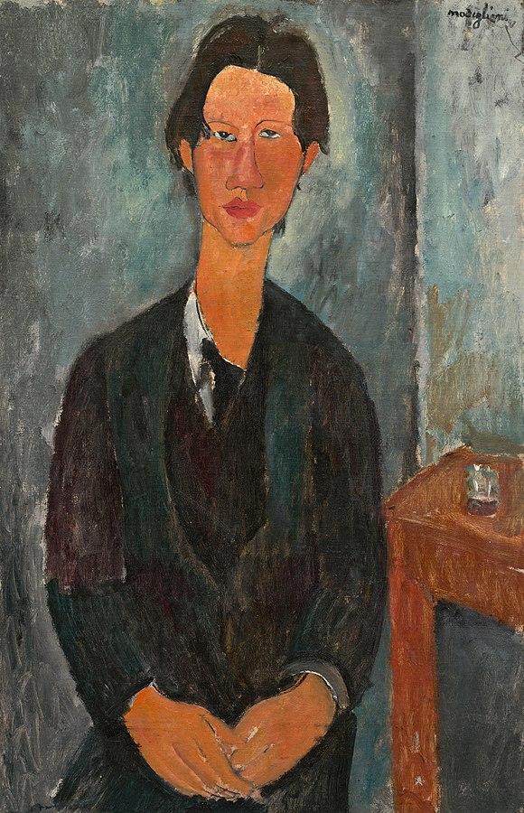 Amedeo Modigliani Chaim Soutine 1917