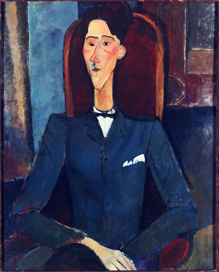 Amedeo Modigliani Jean Cocteau 1916
