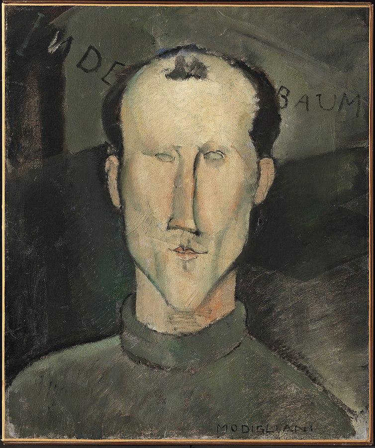 Amedeo Modigliani Leon Indenbaum 1916