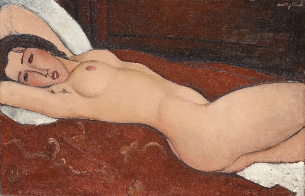 Amedeo Modigliani Nudo di donna distesa