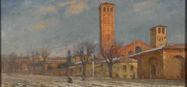 Carlo Paolo Agazzi La chiesa di Sant'Ambrogio a Milano