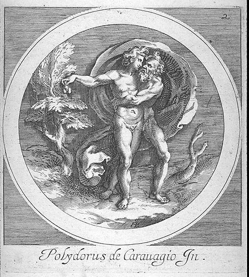 Cherubino Alberti Giove bacia Ganimede