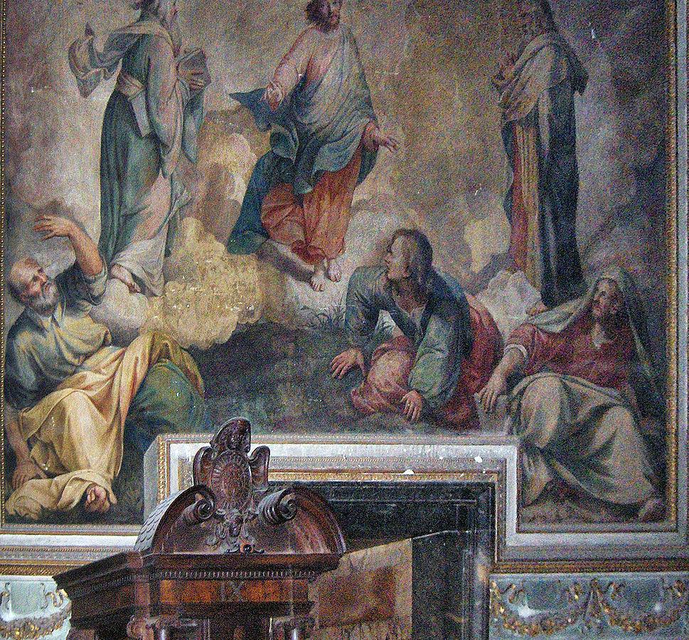 Durante Alberti La trasfigurazione di Gesù