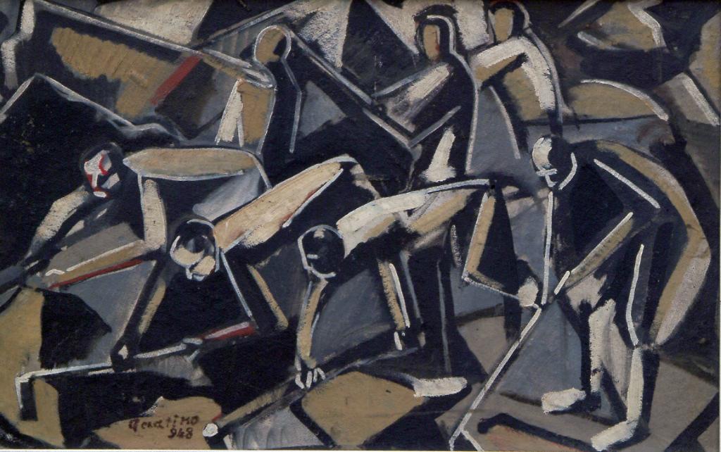 Enrico Accatino dipinto
