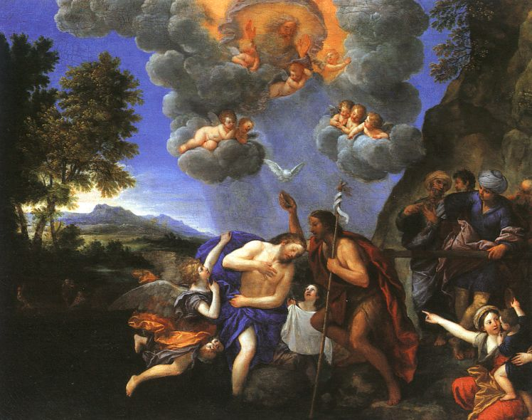 Francesco Albani Battesimo di Cristo