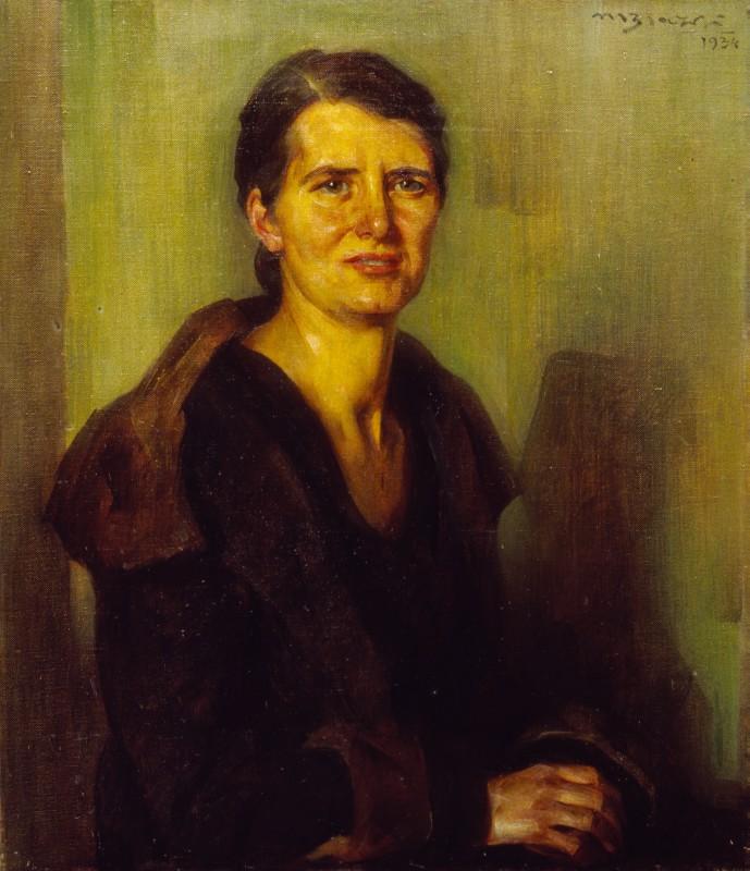 Mario Biazzi Ritratto di donna